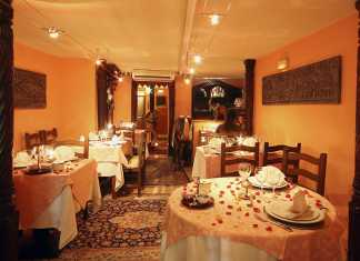 Indisk hindu restaurang i Santa Catalina.