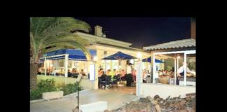 Cafe del Mar, Sa Coma, restaurang, Café, utsikt, mat, grillrestaurang