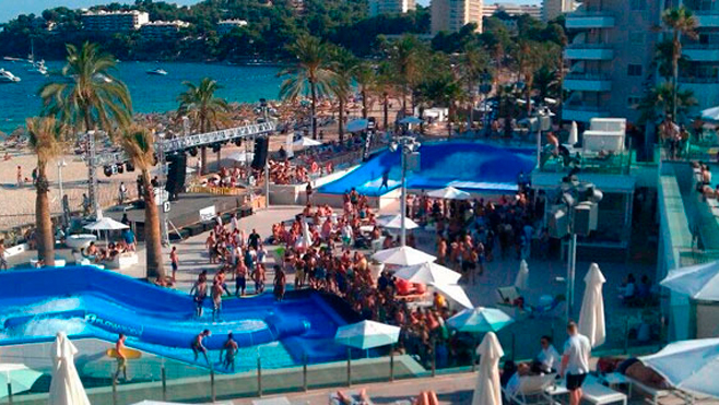 Cafe del Mar, Wavehouse, Magaluf