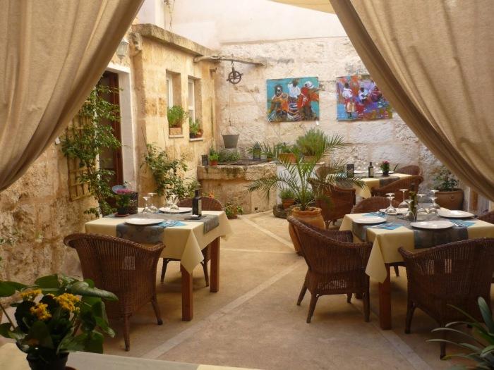 Sa Pobla restaurang, inte vad man hade väntat sig, Medelhavsmat i Sa Pobla.