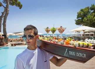 Nikki beach, Magaluf, Bar, Restaurang, sydvästra Mallorca