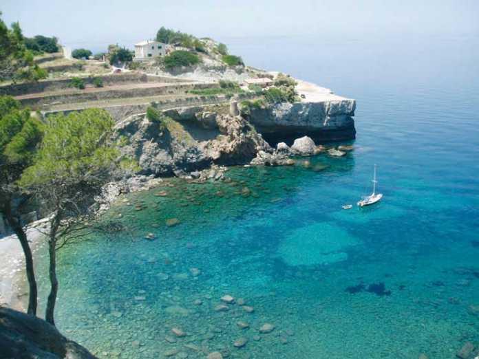 Playa Banyalbufar Mallorca