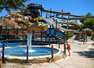 Western Water Park, vattenpark, vattenland, sydvästra Mallorca, barnaktivitet, nöje