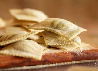 Ravioli, Pasta, Italiensk mat, Pollenca