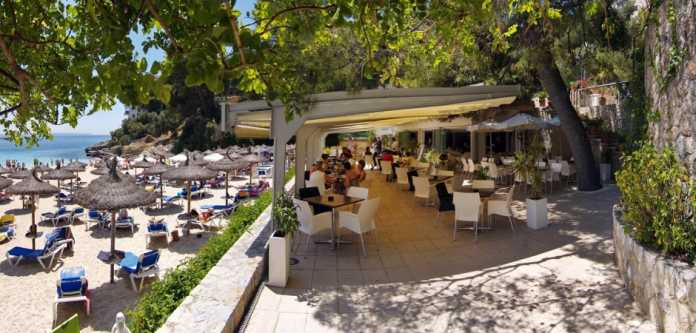 Las Terrazas, Illetas, Sydvästra Mallorca, Beachclub, företagsevent, restaurang, bar, strand