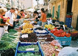 Marknad, Marknader, Mallorca, Inca, Shopping