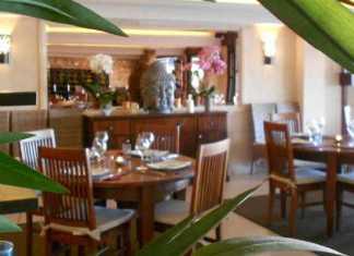Restaurang i Palmanova, Thaimat nära Magaluf, Thaimat Mallorca,