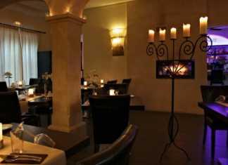 romantiskt restaurang, port d´Andrtax,