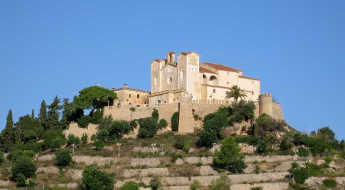 liten by, Östra Mallorca, kultur, historia, kyrka, kapell,