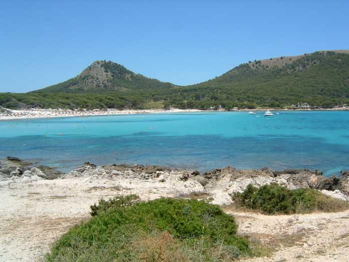 Vackra stränder på Mallorcas nordöstra kust.