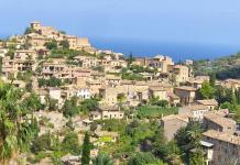 Deia, Nordvästra Mallorca, utflykt, kändisar, konstnärer, pittoreskt, historia