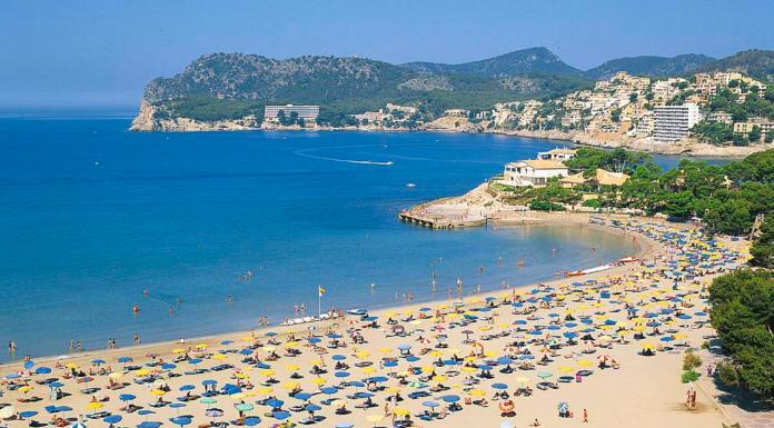 Peguera, Sydvästra Mallorca, Sturistort, Stränder, Bad