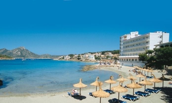Sant Elm, Sydvästra Mallorca, Turistort, Bad, Strand, Stränder