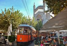 Soller, Sollertåget, utflykt, kultur, Nordvästra Mallorca