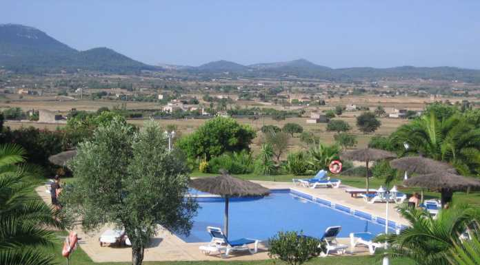 Montuiri landsbyggd utan turism, bo ostört på underbara fincor, typisk mallorquinsk by,