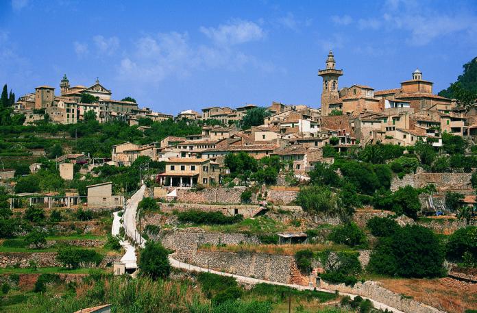 Valldemossa, Nordvästra Mallorca, Utflykt, Historia, kloster, Chopin