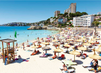 Cala Mayor, San Agustin, Palma de Mallorca,