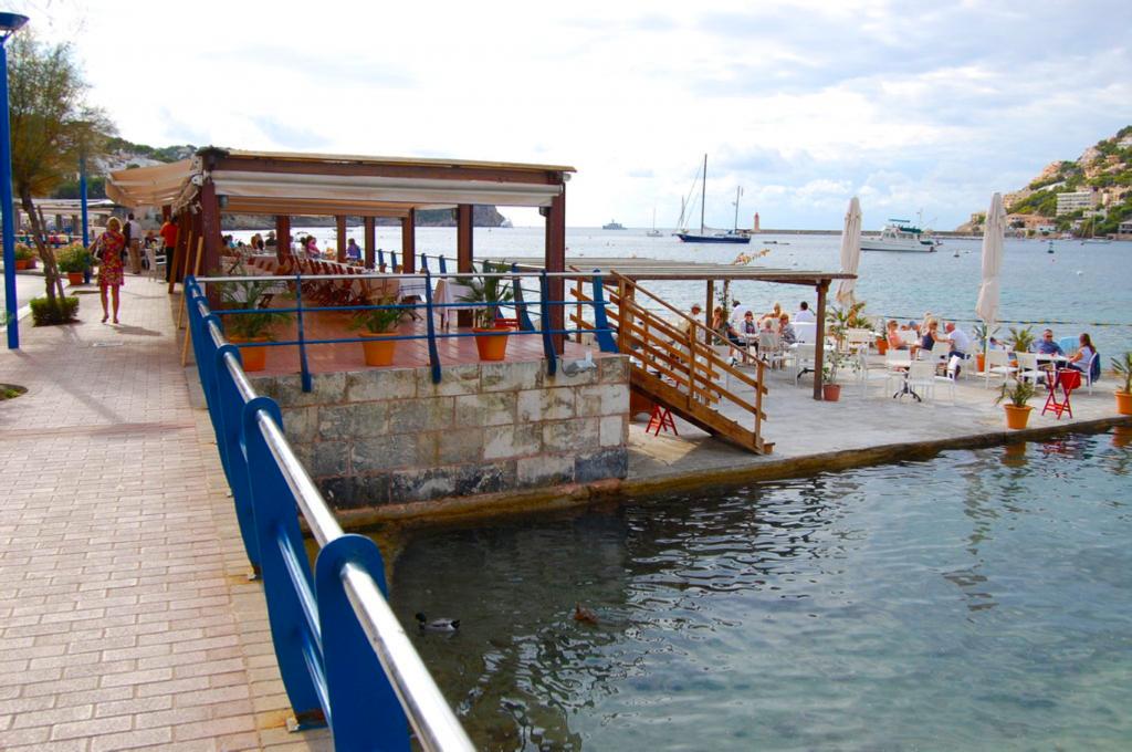 Port d´Andratx, restaurang, Sydvästra Mallorca
