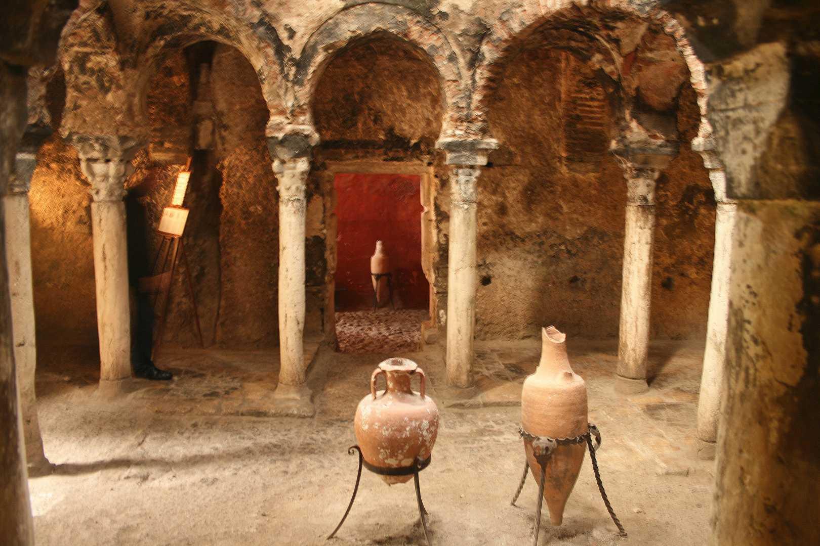 Arabiska badhuset, morer, historia, Palma de Mallorca