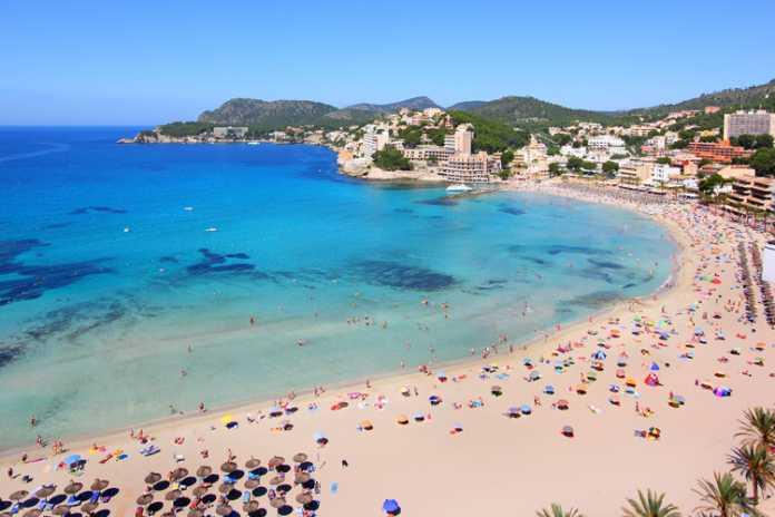 Platja Palmira, Platja de Tora och Platja La Romana - Paguera Mallorca