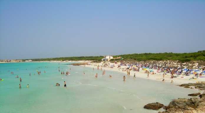 Playa de Ses Covetes Mallorca