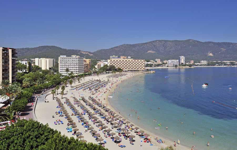 Playa de son maties Mallorca