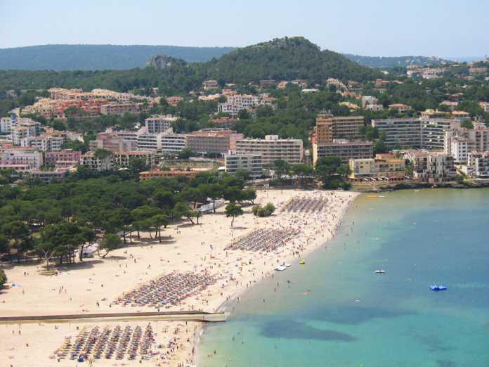 Santa Ponsa stranden Mallorca