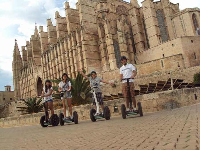 Segway, Palma de Mallorca, Mallorca, Aktivitet