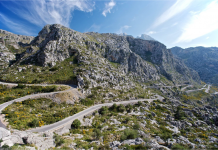 Sierra de Tramuntana, Vandra, Berg, Mallorca, Cykling