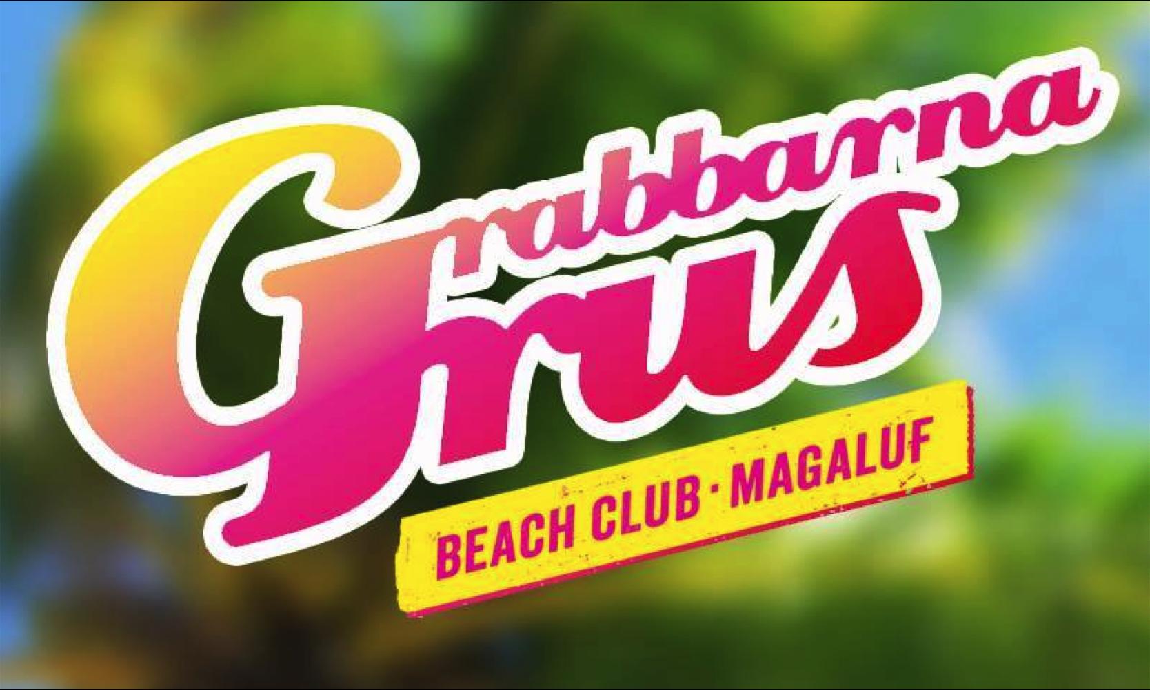 Grabbarna Grus Beach Club Magaluf Mallorcaguide