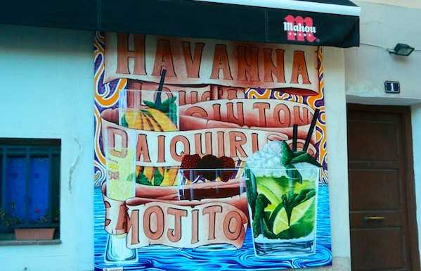 Havanna Bar i Santa Catalina, Mallorca