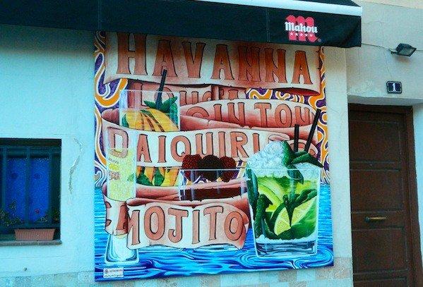 Havanna Bar i Santa Catalina, Mallorca