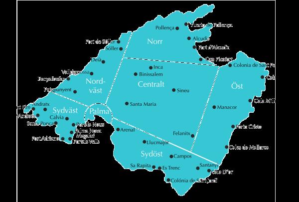 Mallorca Områden