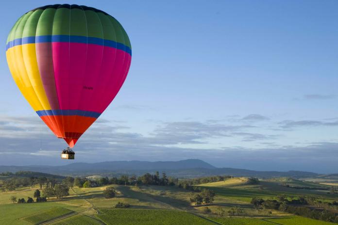 Luftballong, födelsedagspresent