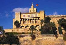 Palatset Almudaina, sevärdhet, historia Mallorca