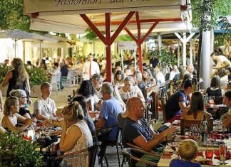 Santa Catalina, Palma de Mallorca, restauranggata, gågata, Calle Fabrica, saluhall, Mallorca