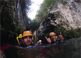 Canyoning, Mallorca, äventyr