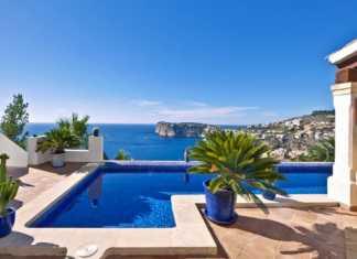 Fastighet med utsikt på Mallorca